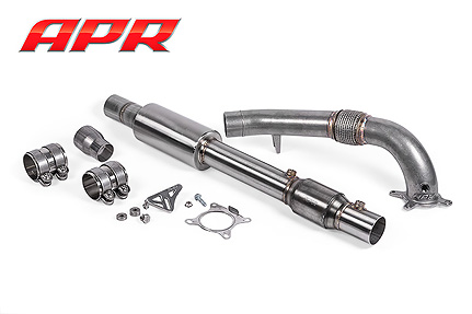 Cast Exhaust Downpipe 1.8T/2.0T (FWD) - Superb B6 Image