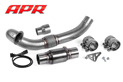 Cast Exhaust Downpipe 1.8T/2.0T Gen 3 - A3 MKIII Image