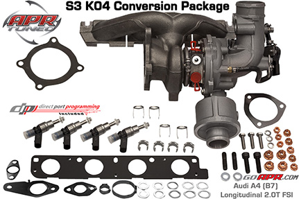 Turbo Kit S3 K042.0 TSI - TT MKII Image